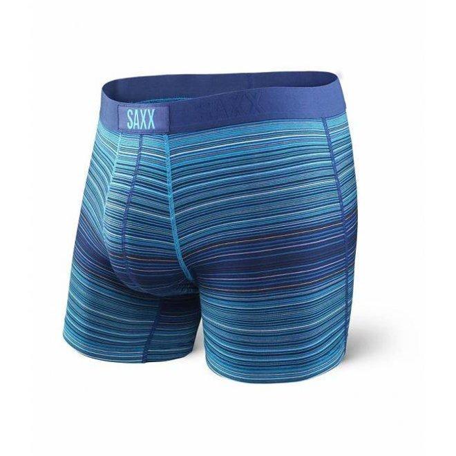SAXX Vibe Boxer - Blue Binding Stripe