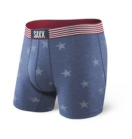 Saxx Underwear SAXX Vibe Boxer - Chambray Americana