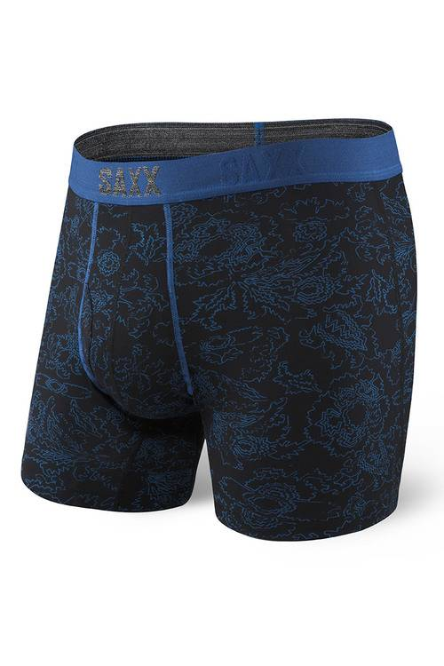 Saxx Underwear SAXX Platinum Boxer - Blue Paisley