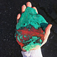 "Sonoran Sunset Cuprite Chrysocolla Slice 5.5"""