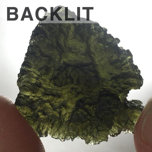 Moldavite 9.5g  Specimen