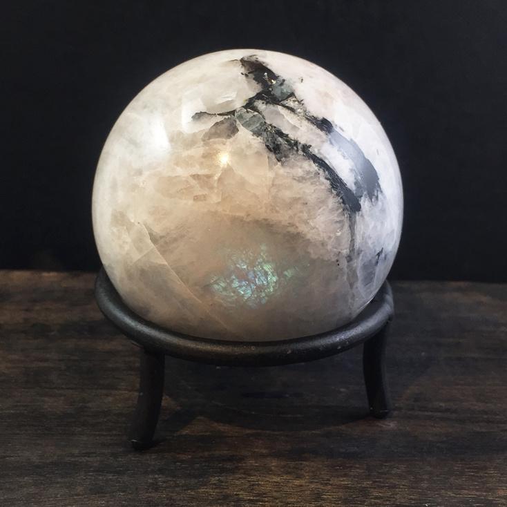 Rainbow Moonstone 60mm Sphere