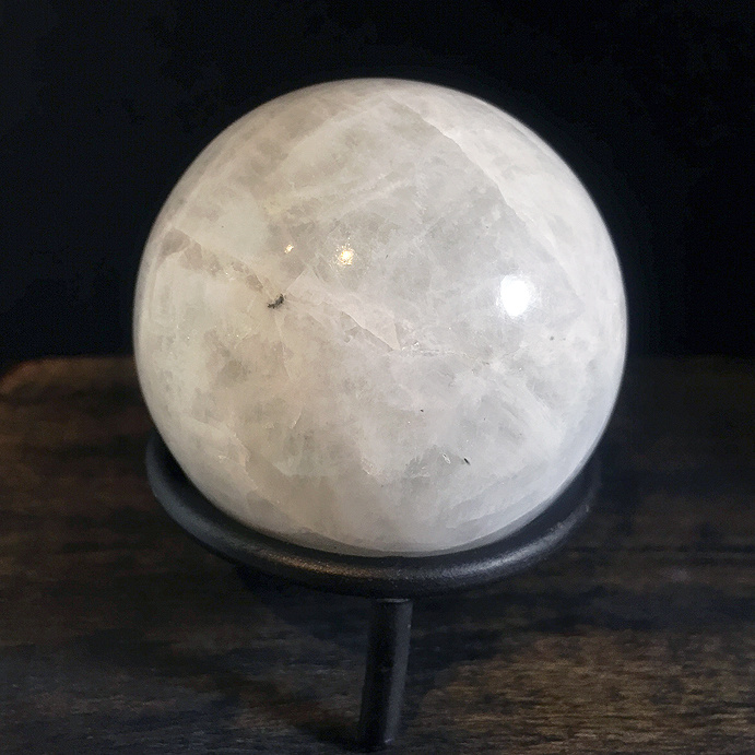 Rainbow Moonstone 60mm Sphere