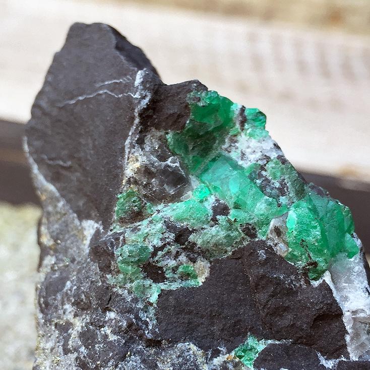 "Colombian Emerald Specimen 4.25"""