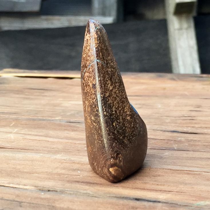 -SOLD-  Boulder Opal 64g Polished Palmstone