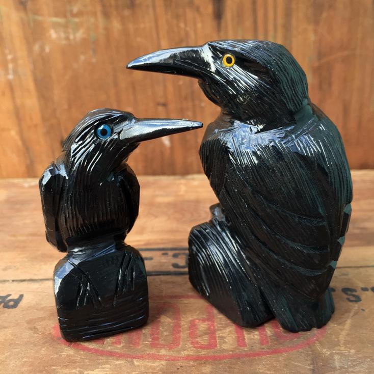 "Black Onyx Raven 2.50"""