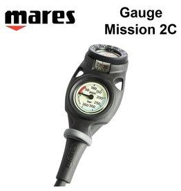 Mares Mission 2C Gauge