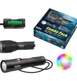Big Blue Dive Lights AL1300NP + AL450NMT Combo