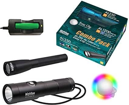 Big Blue Dive Lights AL1200NP + AL250 Combo