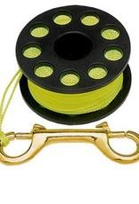 Trident Reel w/ 45' Line (Yellow)