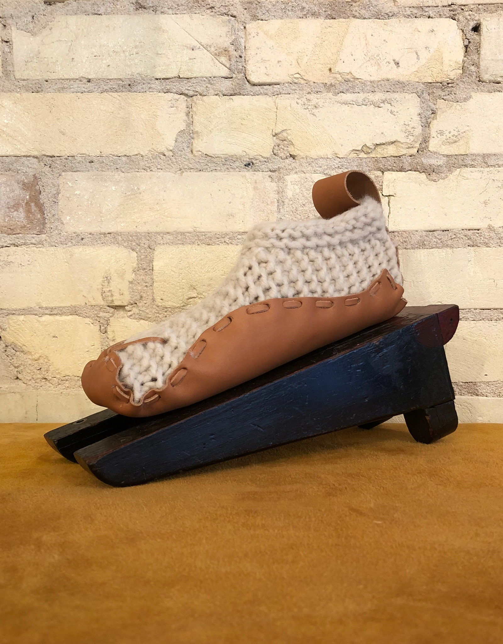 Chilote Wool & Leather House Shoes