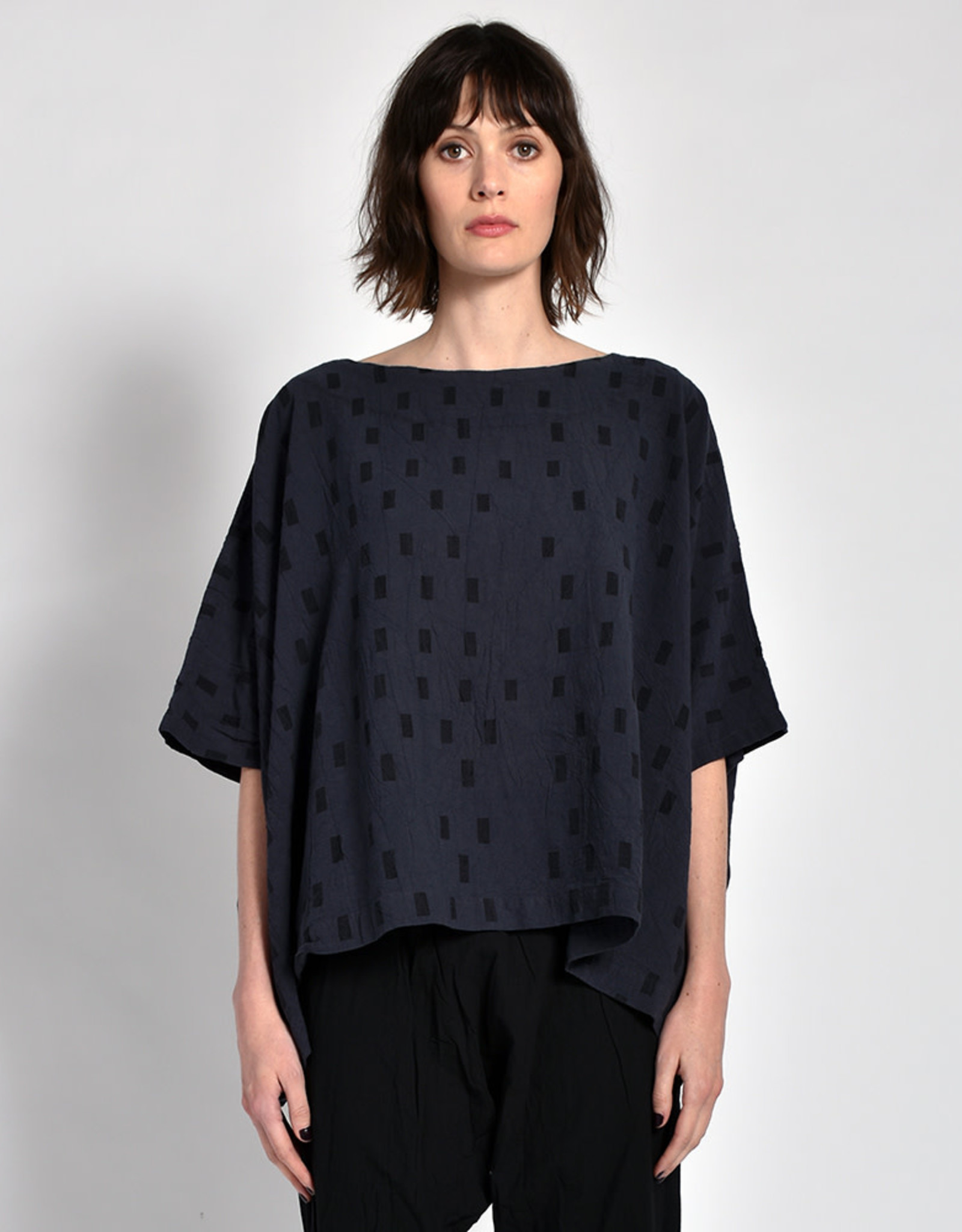 Uzi NYC Charcoal Disko Cube Top (O/S)