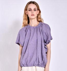Uzi NYC Lavender Speckle Nina Top (O/S)