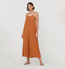 LACAUSA Almond Woodstock Jumpsuit