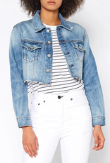 NOEND Trace Crop Denim Jacket in Tomboy
