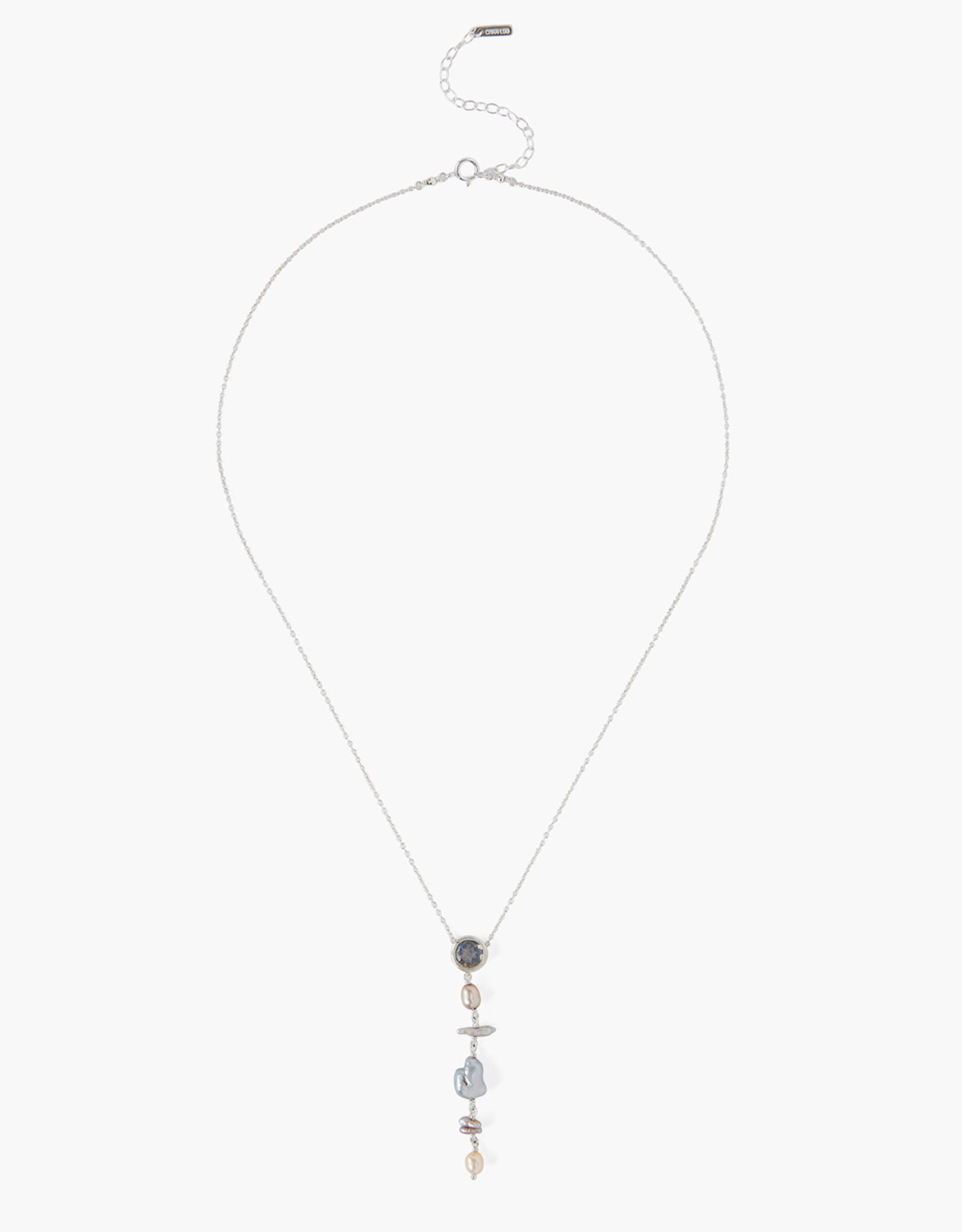 Chan Luu Labradorite & Freshwater Pearl Necklace