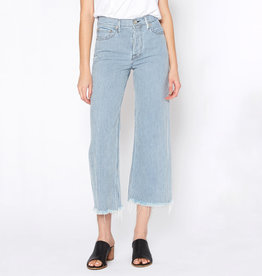 NOEND Hailey Culotte Jeans in Luce Stripe