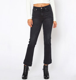 NOEND Washed Black Kick Flare Jeans