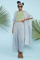 Maelu Blue Alma Wide-leg Pants