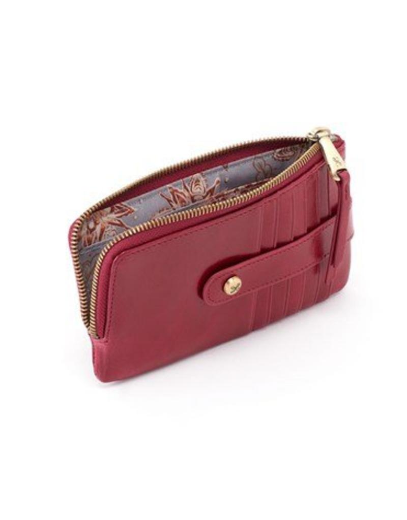 hobo Flash Card Wallet - Ruby