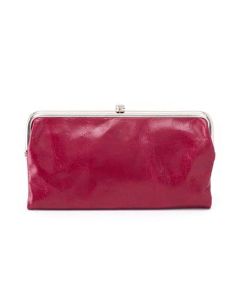 hobo Lauren Clutch Wallet - Ruby