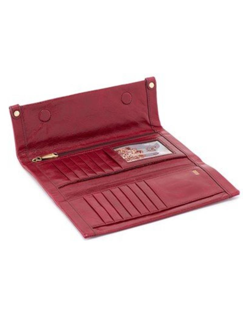 hobo Fable Wallet - Ruby
