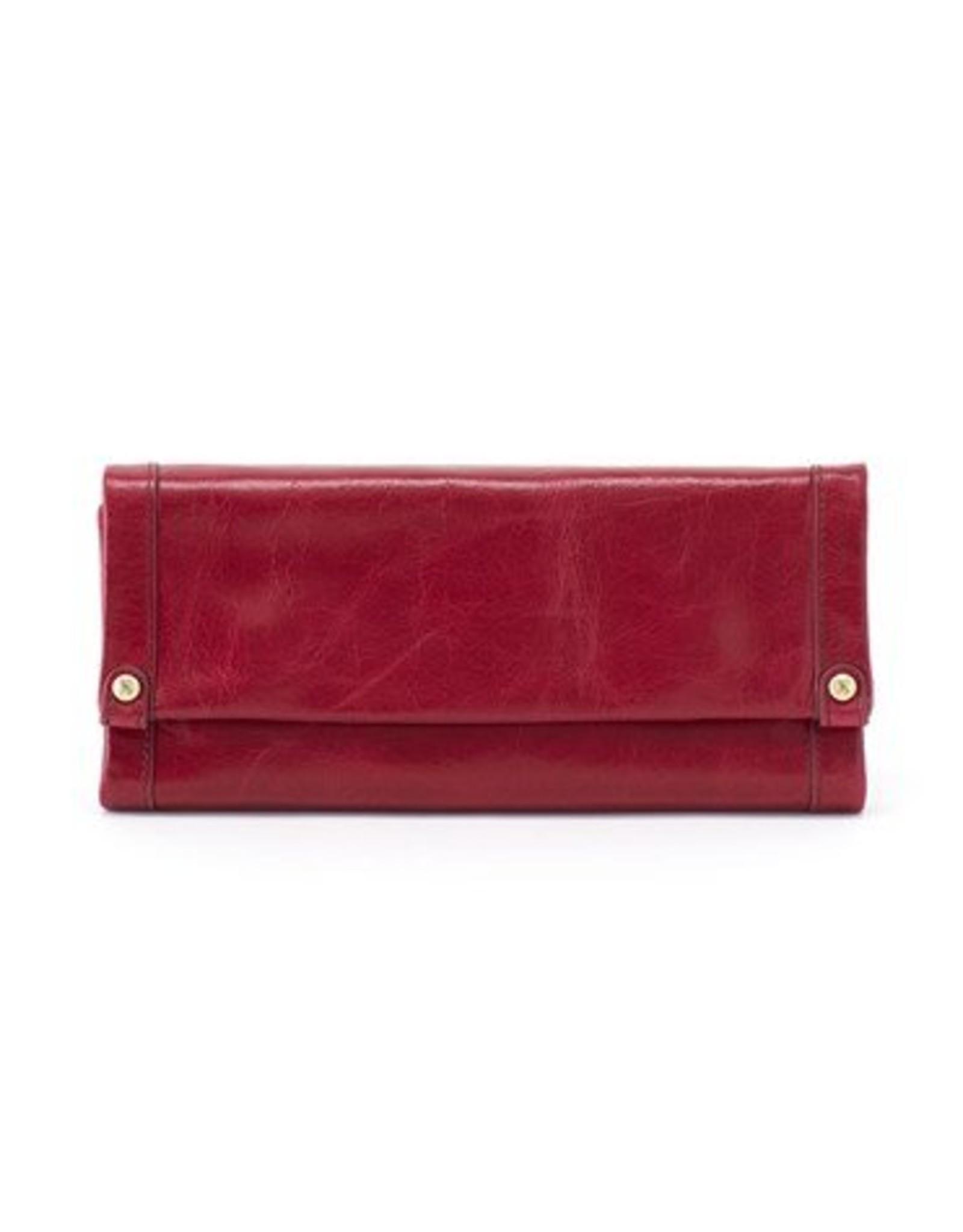 hobo Fable Wallet - Ruby