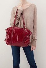 hobo Flourish Shoulder Bag - Ruby