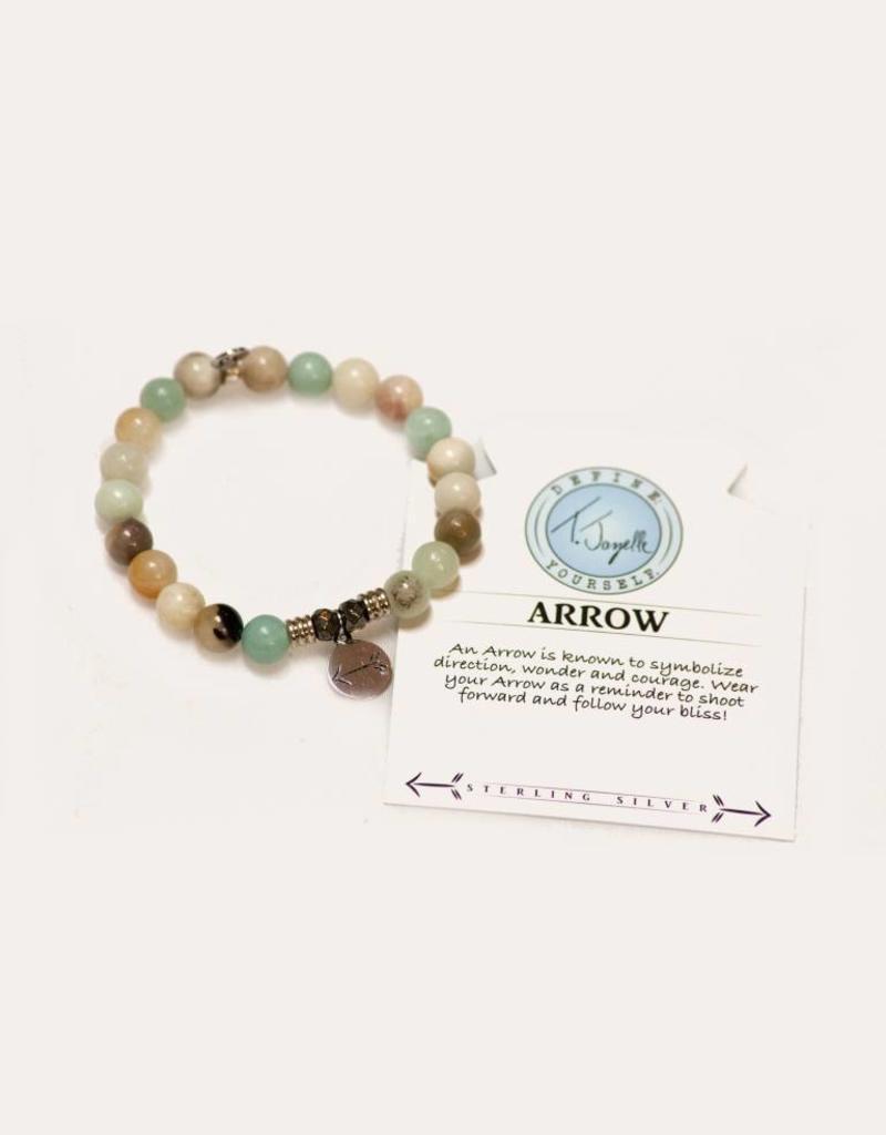T Jazelle Amazonite Arrow Bracelet