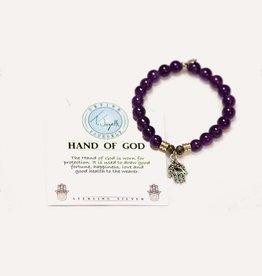 T Jazelle Amethyst Hand of God Bracelet