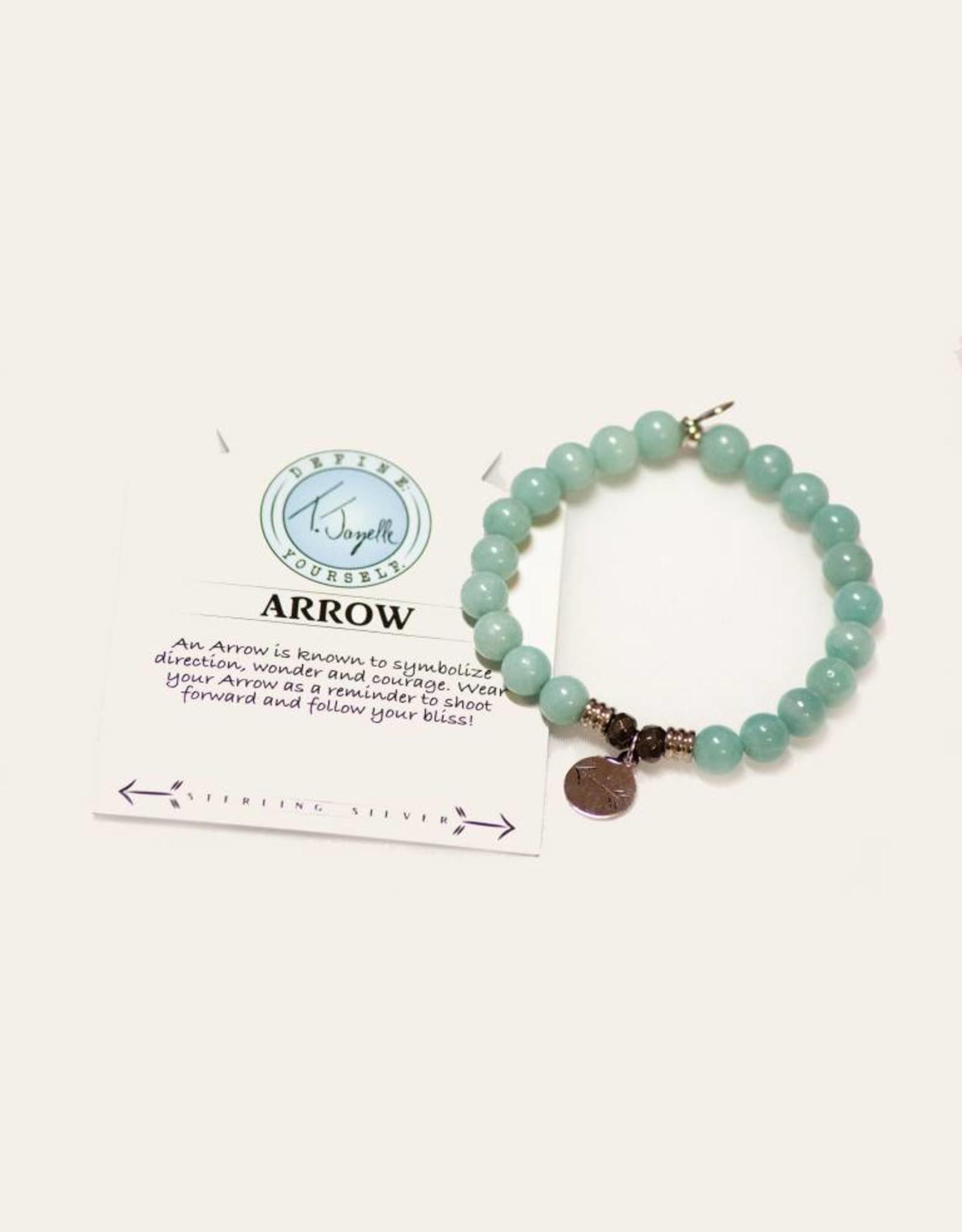 Apatite Arrow Bracelet