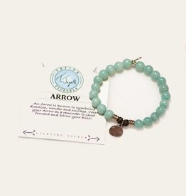 T Jazelle Apatite Arrow Bracelet