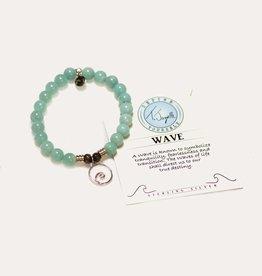 T Jazelle Apatite Wave Bracelet