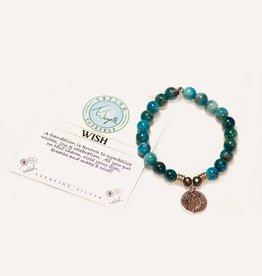 T Jazelle Arctic Apatite Wish Bracelet