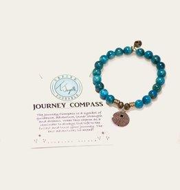 T Jazelle Arctic Apatite Journey Compass Bracelet
