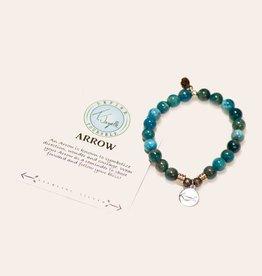 T Jazelle Arctic Apatite Arrow Bracelet