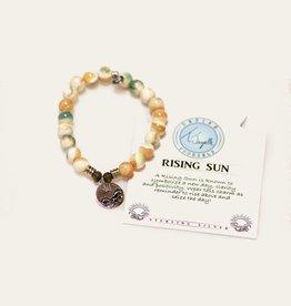 T Jazelle Pearl Shell Rising Sun Bracelet