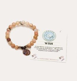 T Jazelle Pink Opal Wish Bracelet