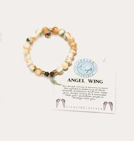 T Jazelle Pearl Shell Angel Wing Bracelet
