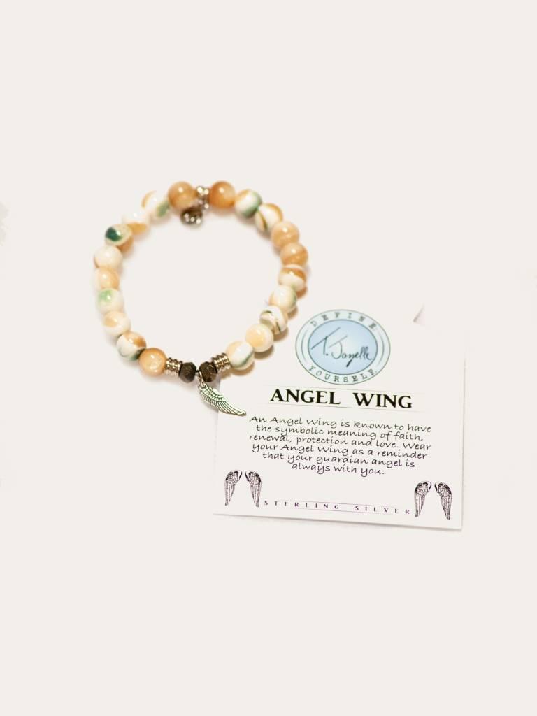 Pearl S Angel Wing Bracelet