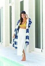 Mudpie Johanna Tie Dye Kimono - Blue