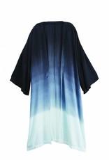 Mudpie Johanna Tie Dye Kimono - Black
