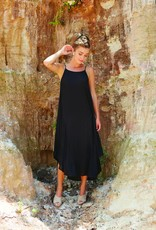 Mudpie Michaela Maxi Dress - Black