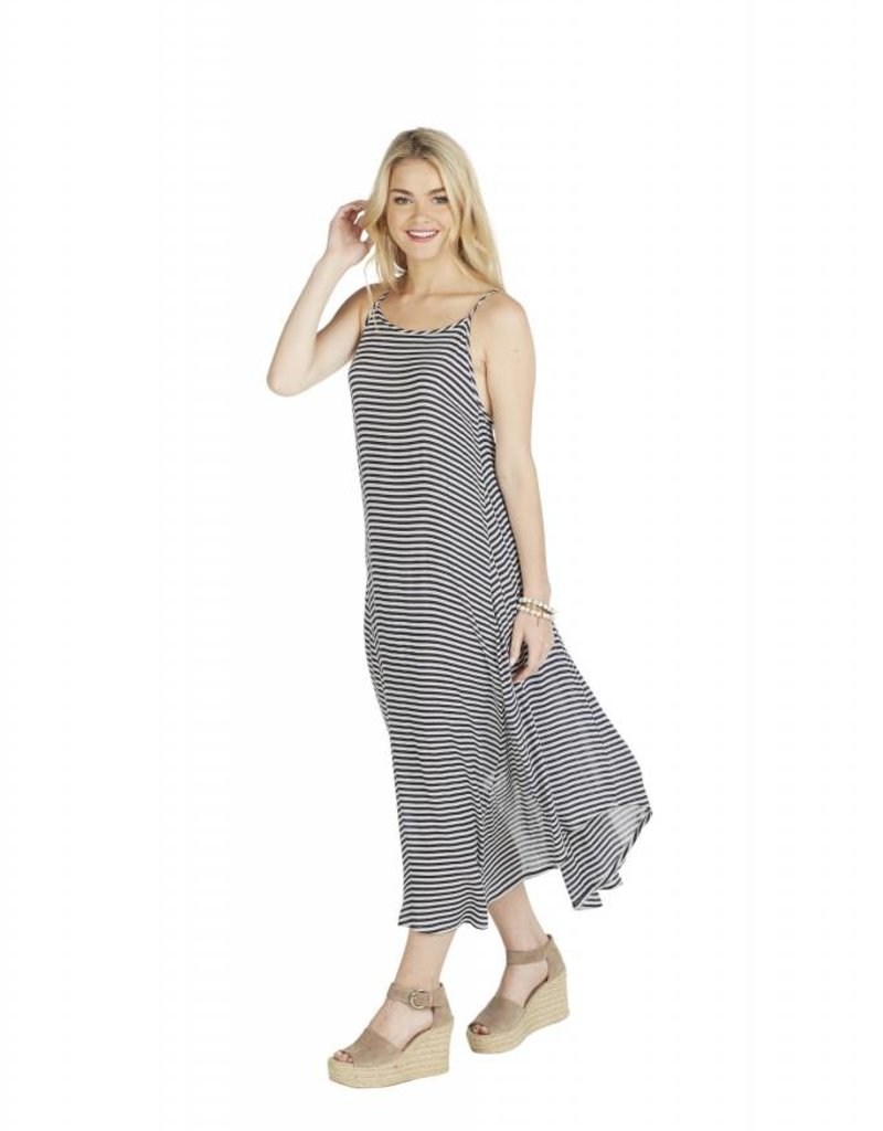 Mudpie Michaela Maxi Dress - Navy