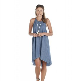 Mudpie Ryan Swing Dress - Blue