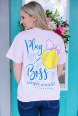 simply southern Softball Boss Tee