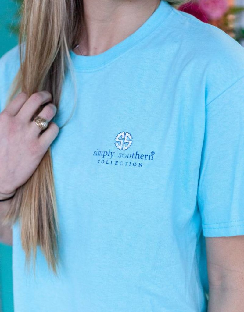 simply southern Laid Back Tee
