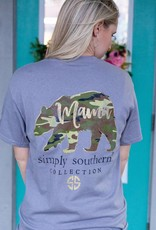 simply southern Camo Mama Bear Tee