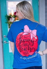 simply southern Teacher Life Tee