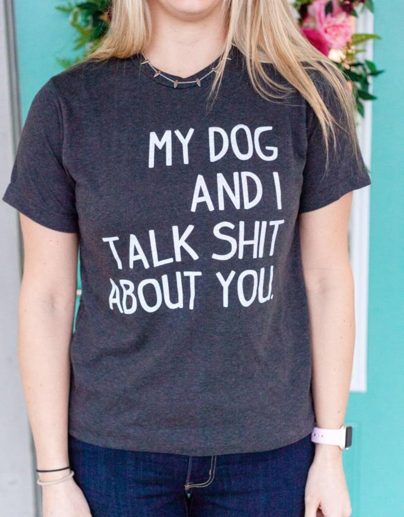 Stated Apparel Dog Talk Shit Tee